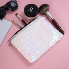 Makeup Bag (LIGHT PINK) (OS)