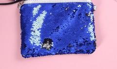 Makeup Bag (BLUE) (OS)