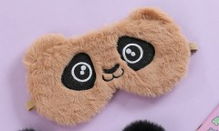 Fancy Blindfold (BROWN) (OS)