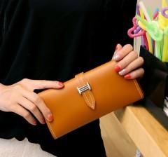 Ladies Wallet (BROWN) (Os)