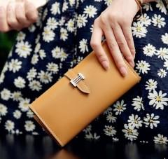 Ladies Wallet (LIGHT BROWN) (Os)