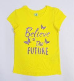 YFK Girls T-Shirt (YELLOW) (7 to 12 Years)
