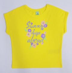 YFK Girls T-Shirt (YELLOW) (8 to 14 Years)