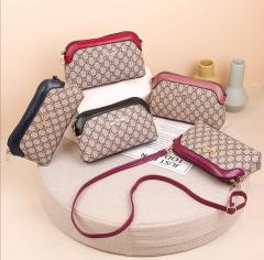 Ladies Bags (RED - CREAM) (Os)