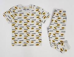 NEXT Boys 2 Pcs Pyjama Set (GRAY - YELLOW) (2 to 10 Years)