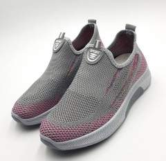 SPORT  Ladies Shoes (GRAY - PINK) ( 36 to 41)