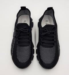 F.T.W Ladies Shoes (BLACK) (37 to 41)