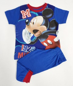 DISNEY Boys 2 Pcs Pyjama Set ( BLUE) (2 to 7 Years)