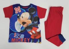 MICKEY MOUSE Boys 2 Pcs Pyjama Set (BLUE - RED) (2 to 7 Years)