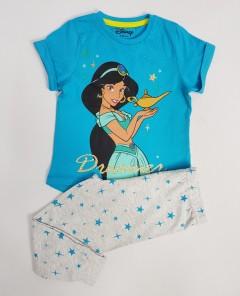 DISNEY Girls 2 Pcs Pyjama Set (BLUE - GRAY) (2 to 7 Years)