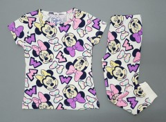 MICKEY MOUSE Girls 2 Pcs Pyjama Set (AS PHOTO) (2 to 8 Years)