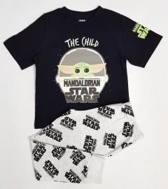 STARWARS Boys 2 Pcs Pyjama Set ( LIGHTGRAY - BLACK (4 to 13 Years)