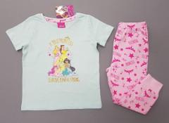 DISNEY Girls 2 Pcs Pyjama Set (LIGHT BLUE - PINK) (1 to 6 Years)