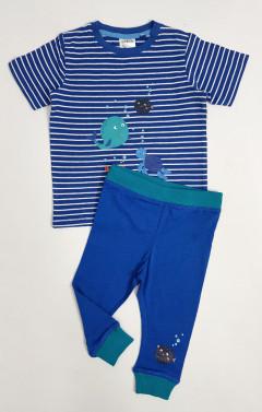 POCO PIANO Boys 2 Pcs Pyjama Set (BLUE) (74 to 116 CM)