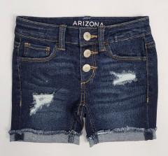 ARIZONA Girls Jeans Short (DARK BLUE) (4 to 14 Years)