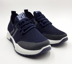SAYTRLA Mens Shoes (NAVY - GREEN) ( 40 to 45)