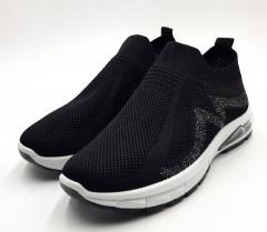 WOMAN KEY Ladies Shoes (BLACK) ( 36 to 41)