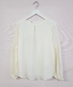 AMISU Ladies Blouse (WHITE) (XS -  S - M - L - XL)
