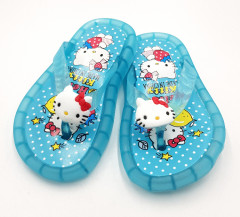 HELLO KITTY Girls Slippers ( BLUE ) (24 to 29)