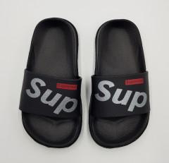 SUPEERED Boys Slippers (BLACK) (25 to 30)