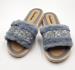 FASHION Ladies Slippers ( GRAY ) (37 to 41)