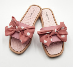 FASHION Ladies Slippers ( PINK ) (36 to 41)