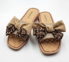 FASHION Ladies Slippers ( BROWN ) (36 to 41)