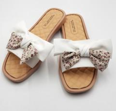 FASHION Ladies Slippers ( WHITE ) (36 to 41)