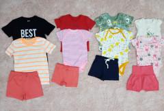 LALIY AND DAN Boys 3 Pcs Set   (Random Color) (0 to 24 Month)