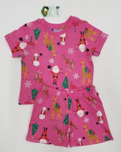 CREATlON Girls 2 Pcs Shorty Set (PINK) (0 to 18 Month)
