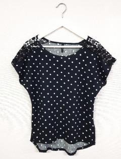 LAURATORELLI COLLECTION Ladies T-Shirt (BLACK) (S - L - XL )