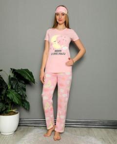 CALIMERA Ladies Turkey 2 Pcs Pyjama Set (PINK) (S - M - L - XL)