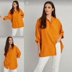 RED QUEEN Ladies Turkey Shirt (ORANGE) (S - M - L)