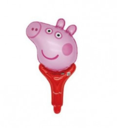 Cartoon Little Pig Pig and friends Birthday Decoration Ballon (RED - PINK) (OS)