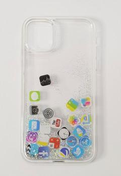 Mobile Cover (WHITE- GRAY) (11 6.1)