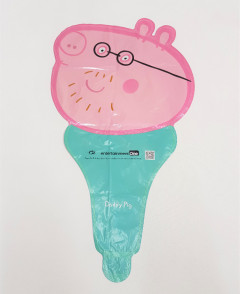 Balloon With Peppa Pig Design (PINK - GREEN) ( ONE SIZE )
