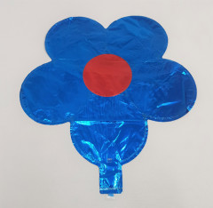 Balloon With Flower Design (BLUE - RED) (Os)