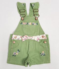 NANNETTE  Girls Romper (GREEN) (12 Month to 6 Years)