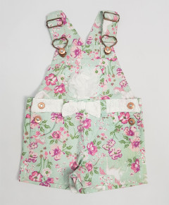 NANNETTE  Girls Romper (GREEN) (12 Months to 4 Years)