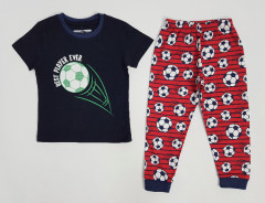 NEXT Boys 2 Pcs Shorty Set (NAVY - RED) (2 to 10 Years)