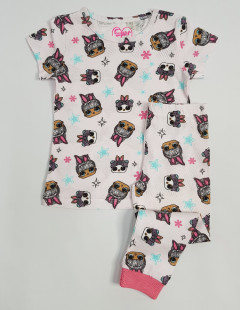 Girls 2 Pcs Pyjama Set (AS PHOTO) (2 to 8 Years)