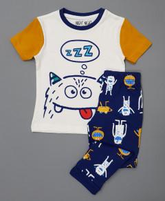 NIGHT NIGHT Boys 2 Pcs Pyjama Set ( AS PHOTO) (2 to 10 Years)