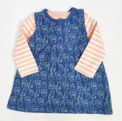 Girls Dress (BLUE) (62 to 74 CM)