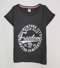 UP2FASHION Mens T-Shirt (BLACK) (XS - S - M - L - XL)