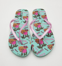 Ladies Slippers ( GREEN ) (36 to 41)
