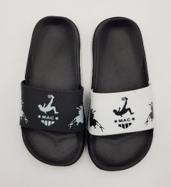 MAC Boys Slippers (BLACK - WHITE) (33)