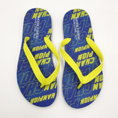 Mens Slippers ( BLUE - YELLOW) (40 to 45)