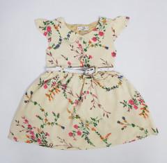 KIDLY BOO  Girls Dress (CREAM) (2/3 to 7/8 Years)