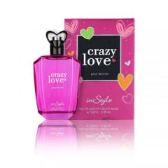 INSTYLE Crazy Love Pour Femme Eau De Parfum Natural Spray 100 ML (GM)