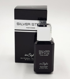 INSTYLE Silver Style Pour Homme Instyle Aeu De Toilette Natural Spray 100 ML (GM)